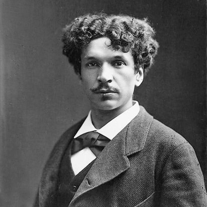 Французький поет і винахідник Шарль Кро (1842-88)