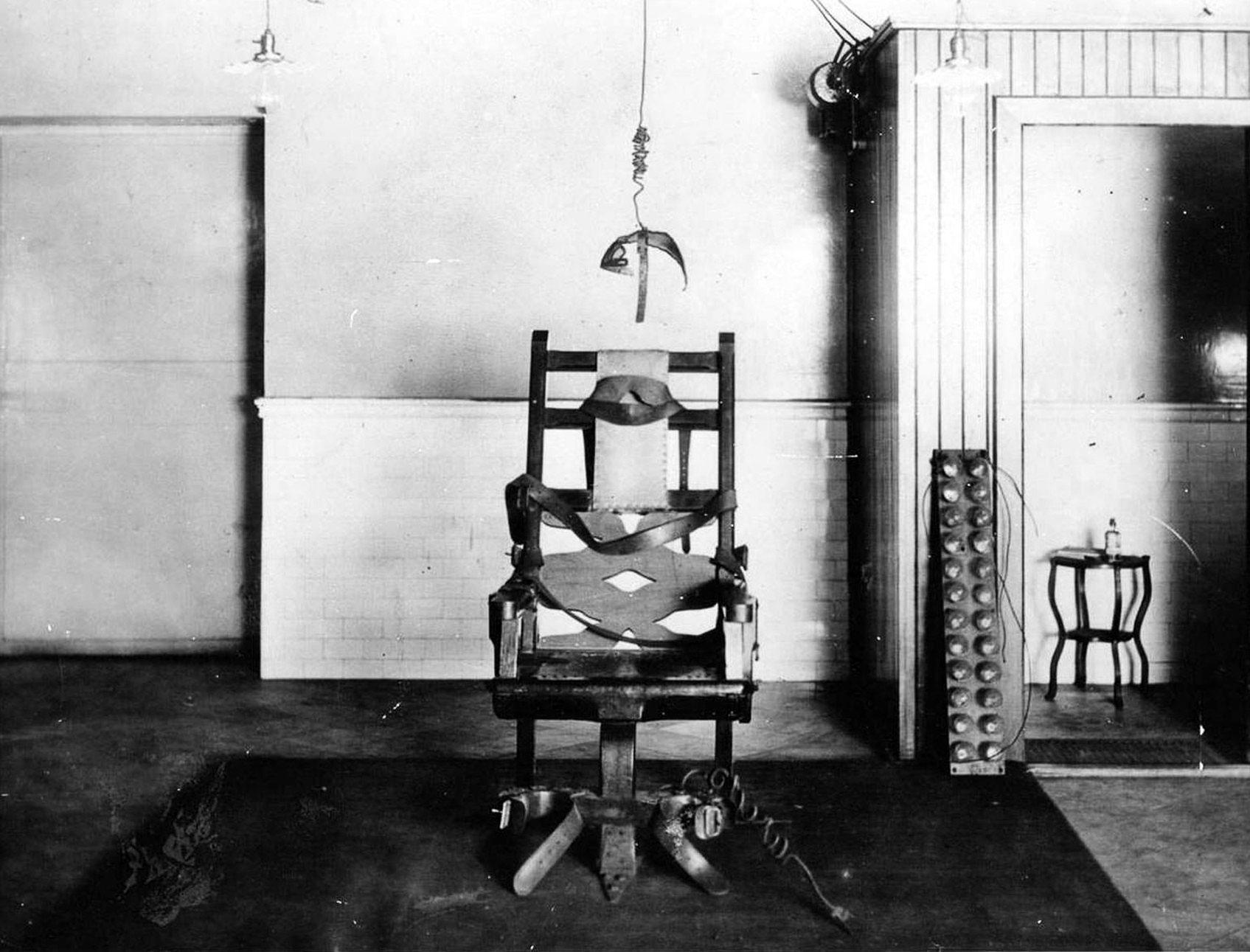 Картинки казнь на электрическом стуле