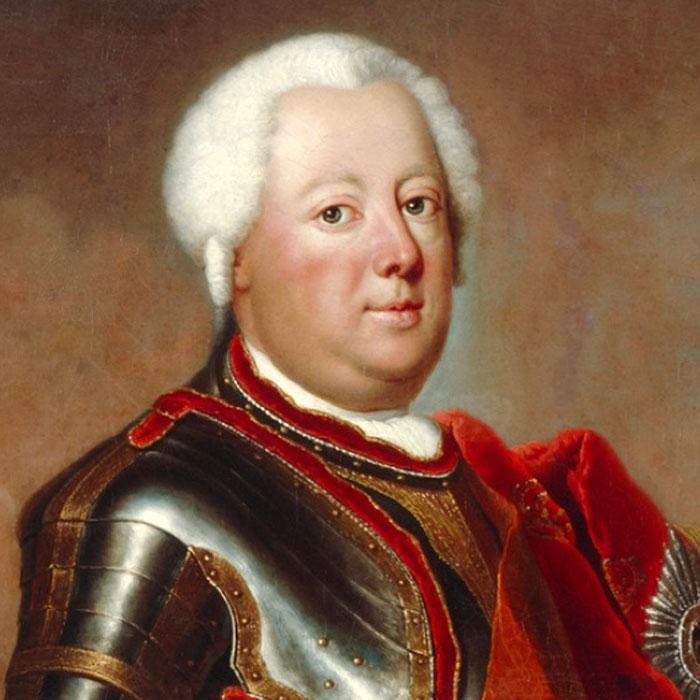 Антуан Пен «Фрідріх Вільгельм I», 1733 рік