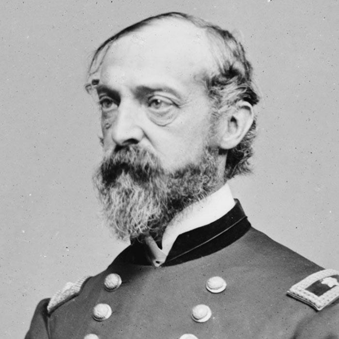 Командуючий Потомакською армією США генерал Джордж Мід, 1865 рік