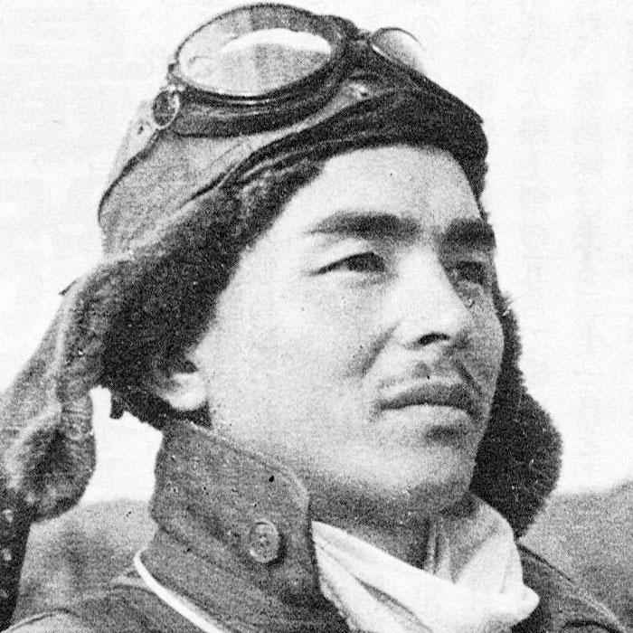 Хіройосі Нісідзава (1920 - 26 жовтня 1944). Японський льотчик-ас, один з кращих у роки Другої Світової війни, - у битві в затоці Лейте займався прикриттям літаків камікадзе.