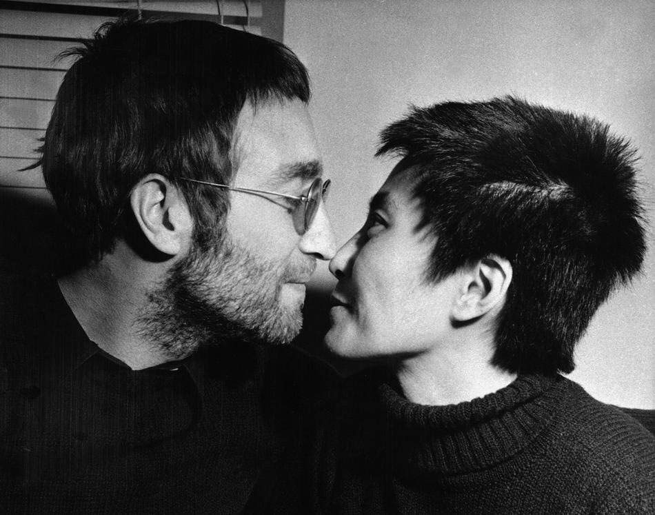 Джон Леннон і Йоко Оно. Лондон, 9 лютого 1970 року © Bob Dear/AP Photo