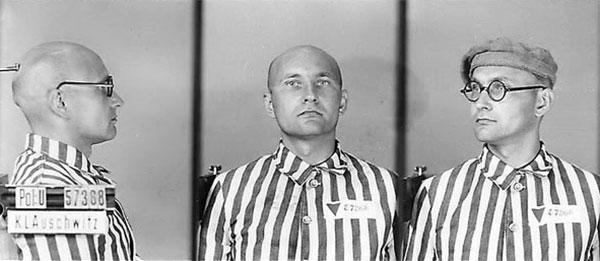 Лев Ребет в Аушвіці, 1940-і роки