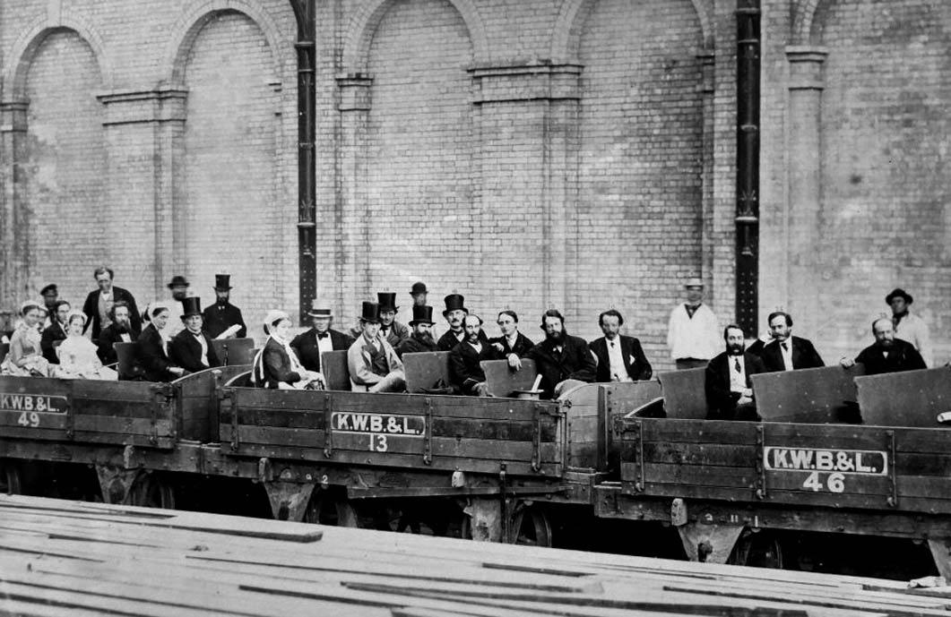 Пасажири лондонського метрополітену, 23 серпня 1863 року © Hulton Archive/Getty Images