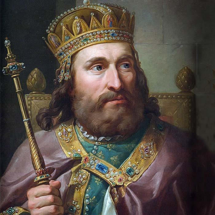 Людовик Угорський (1326-1382) пензля Марчелло Бачареллі - перший король Галичини та Володимирії