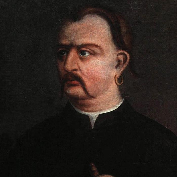 Максим Залізняк (бл. 1740 — після 1769), портрет кінця XVIII ст.