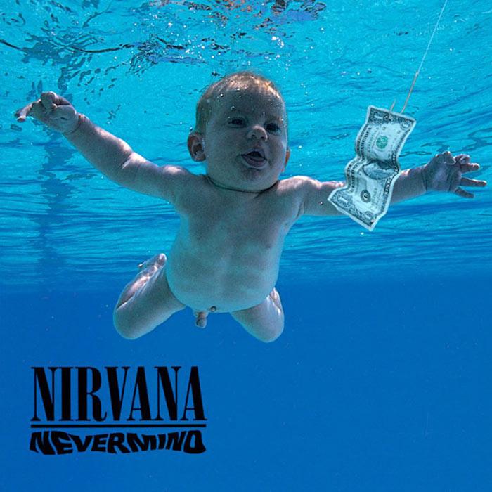 Обкладинка альбому «Nevermind»