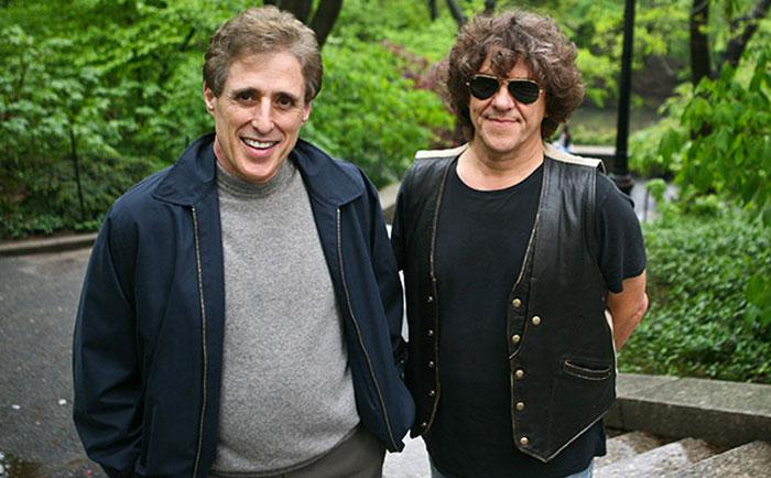 Майкл Ленг (справа) і Арті Корнфельд, 2009 рік © Fred R. Conrad/The New York Times
