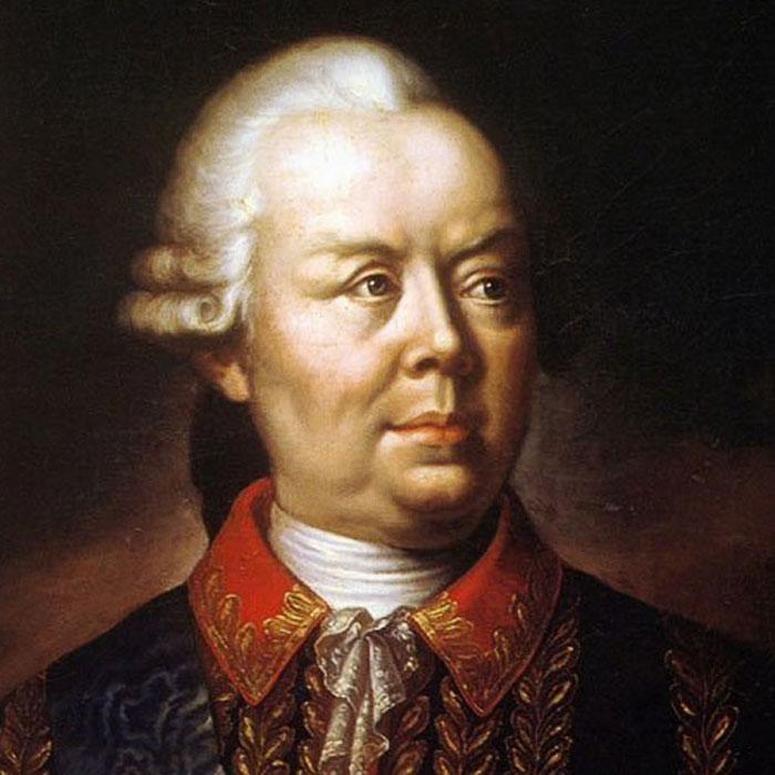 Фельдмаршал Петро Румянцев-Задунайський, портрет невідомого художника XVIII століття