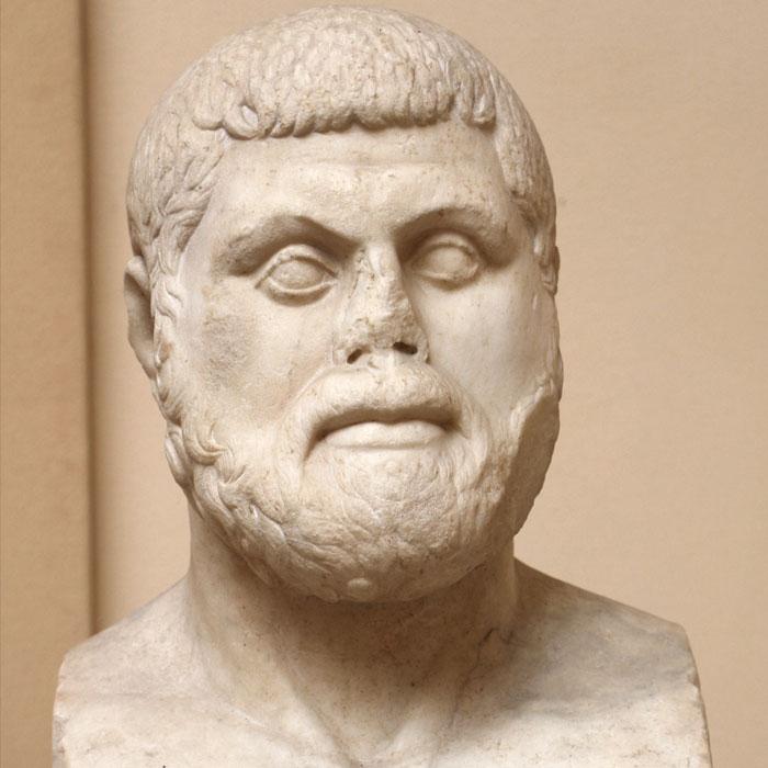 Афінський політик і стратег Фемістокл (бл. 524 — бл. 459 до н. е.). Музей античної історії в Остії, Рим