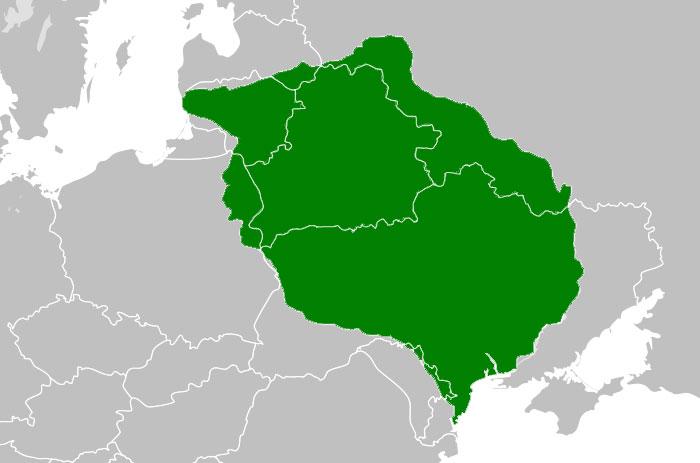 Велике князівство Литовське на початку XV століття